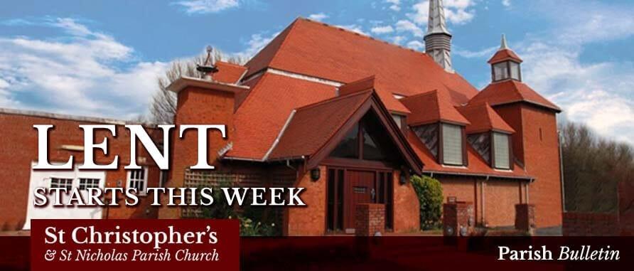 1st Sunday in Lent 2019 – Parish Bulletin